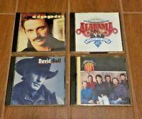 Lot of 4 Country Music CDs 1991-98 David Ball Alabama Diamond Rio Aaron Tippin
