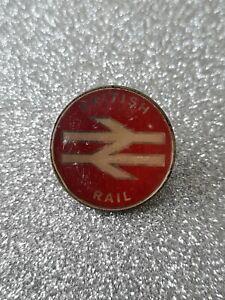 Vintage BRITISH RAIL Pin Badge (RED)