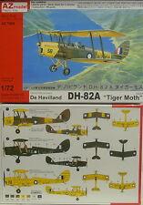 """Havilland DH-82A """" Tiger Moth """" RAAF , 1:72, AZ Model, NEW"""