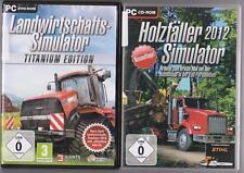 Landwirtschafts Simulator 2013 Titanium Edition Bauernhof + Holzfäller 2012 PC