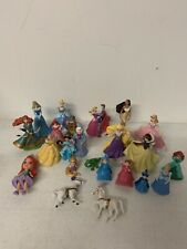 DISNEY MIXED Princess PVC PLASTIC ACTION FIGURES CAKE TOPPER 20 Items