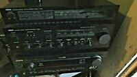 Yamaha A-520 Integrated Amplifier and Tuner T-520 & Av Receiver Htr-5640 LOT