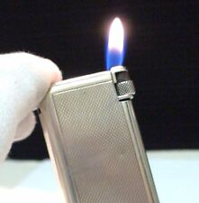 Briquet Ancien Flaminaire Quercia Crillon ARGENT Vintage Solid Silver Lighter