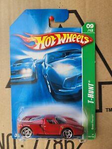 Hot Wheels 2007 TREASURE HUNT - FERRARI ENZO [RED] VHTF NEAR MINT RED SEATS