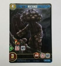 1 Godzilla Card Game Matango Full Art Foil Gz01-74-B Chrono Clash System