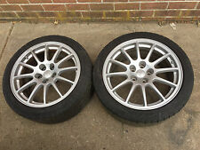 2008 MITSUBISHI LANCER EVO X GSR WHEELS, RIMS ONLY
