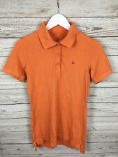 Women's Jack Wills Polo Shirt - Size UK12 - Orange - Great Condition