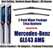 2-Pk Super-Premium NeoForm Wipers fit 2017+ Mercedes-Benz GLE43 AMG 162515/2213
