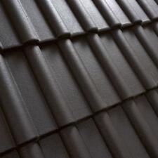 Dachziegel Dachsteine Beton  Musterziegel  *Klassiker*   SCHWARZ  1.Sorte