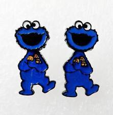 new Sesame street cookie shake head earring ear stud earrings studs jewelry new