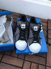 adidas Originals Superstar Sneaker Gr. 38 2/3 Schuhe Schwarz/ Weiß Rar