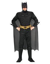 "CAVALIERE Oscuro sorge Uomo Muscolo Batman Costume, L, Torace 42-44 "", Waist 34-36"", gamba 33 """