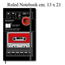 Moleskine Limited Edition Audiocassette pagine a righe Ruled Notebook cm 13 x 21