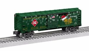 2016 METCA Lionel 6-58280 Christmas Boxcar new in the box with master cartin