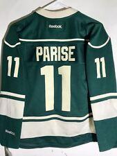 Reebok Women's Premier NHL Jersey Minnesota Wild Zach Parise Green sz S