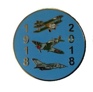 ROYAL AIR FORCE WORLD WARD ONE CENTENARY COMMEMORATION PIN BADGE