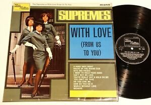 THE SUPREMES - With Love From Us To You  - UK LP mono TML11002 1965 TAMLA MOTOWN