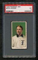 1909 1911 T206 Bock Hooker Piedmont Vintage Tobacco 100 Year Baseball Card PSA 3
