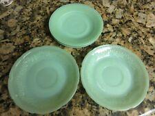 Anchor Hocking Jadeite / Jadite Green Saucer Plate lot of 5