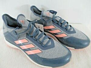 adidas Fabela X Field Hockey Shoes in Raw Steel/Orange Size 11.5 M Style AC8788