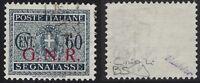 G.N.R. - 1944 - Segnatasse - cent.60 BS - usato - Vignati