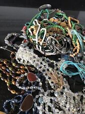 1kg Job Lot Mixed Costume Jewellery Bundle Craft Bead ReSell Upcycle