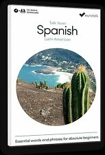 Eurotalk Talk Now Latin American Spanish Beginners - Download option & CD ROM