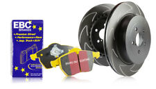 EBC Front BSD Discs & Yellowstuff Pads BMW 3 Series E46 318 1.9 Coupe 99 > 01