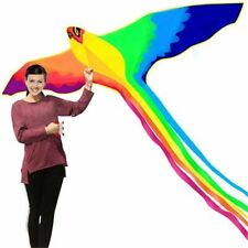 Phoenix Big Kite Long Colorful Huge Flying Tail Handle Line Fun Toys Outdoor New