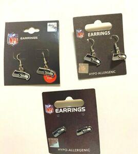 Seattle Seahawks NFL Earrings~Choose Your Style: Post/Dangle