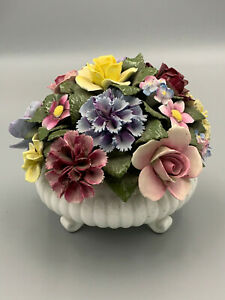Royal Doulton Vintage Handpainted Very Large Flowers Posy.