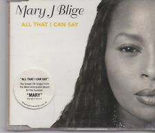 Mary J Blige-All That I Can Say cd maxi single
