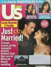 Sarah Michelle Gellar & Freddie Prinze Jr. 2002 Us Magazine Kelly Clarkson