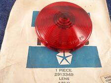 NOS Tail Light Lens 1969-71 Dodge Truck GROTELITE 465 Power Wagon Brake 2913349