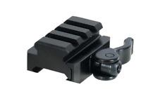 Leapers UTG Weaver/Picatinny 3-Slot QD Lever Mount Base and Riser MNT-RSQD403