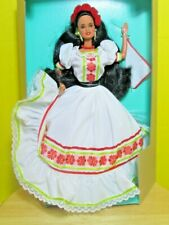 1992 Limited Edition Fantastica Barbie MIB Authentic Mexican dance dress