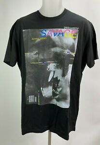 DSQUARED2 NWT Men's Short Sleeve SAVAGE Summer T-Shirt Size 2XL