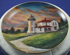 Admiralty Head Lighthouse Coupeville,Wa Lighthouses Of America Danbury Mint 1993