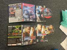 WWE SmackDown vs. Raw 2006 & 2009 (Sony PlayStation 2, 2005) PS2 COMPLETE