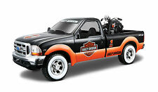 Harley-Davidson 1936 El Knuckelhead 1:24 from Ford F-350 Super Duty 1999 1:27