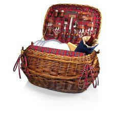 Picnic Basket Luxury Hamper Blanket Highlander Serves 4