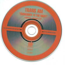 TRANS AM Surrender To The Night promo cd album in pvc sleeve
