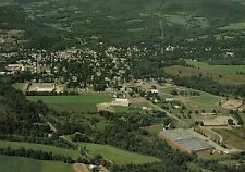 Aerial View of Canton, Pennsylvania, Borough in Bradford County Pa - Postcard