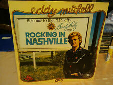 """eddy mitchell""""rocking in nash""""lp12""""vinyle/barclay limited:755 exemplaires rare."""