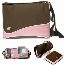 Laptoptasche TWIN BAG Messenger Umhängetasche + Notebook Tasche Bag 11160 ROSA
