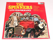 THE SPINNERS SEALED Unopened MINT Live Performance Contour 6870502 album vinyl