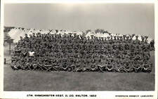 Halton. 5th Manchester Regiment D Co. 1939 by Wynspeare Herbert, Lancaster.