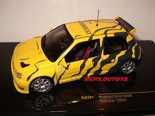 IXO CLC181 RENAULT CLIO MAXI TEST CAR JAUNE ET GRIS 1995 au 1/43°
