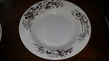 "Antique Turner Brown Transfer Transferware Ironstone 8 7/8"" Low Soup Bowl"