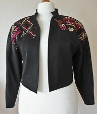 Escada by Margaretha Ley bolero evening jacket,  40 (UK 12-14), vintage, 80s